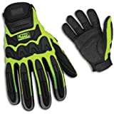 Ringers Gloves 347-10 Rescue Glove, Hi-Vis, Large