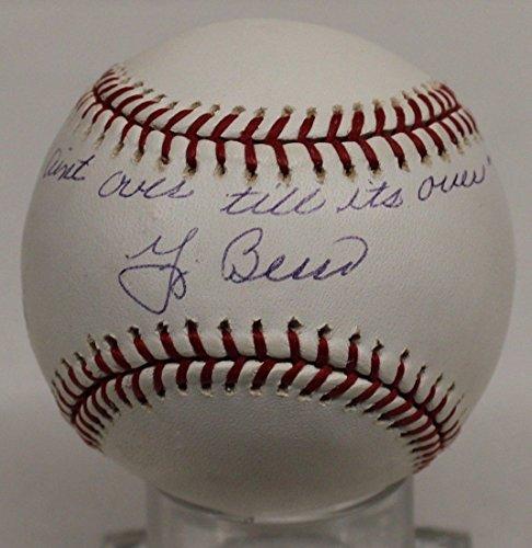 Yogi Berra Autographed Official MLB Baseball Signed Yankees PSA/DNA AC32647 BB04