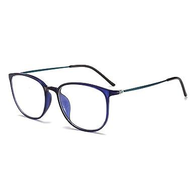 fed1481fb755a Weiqiao® Lunettes Anti Lumière Bleue Lunettes d Ordinateur Unisex Anti  Fatigue Anti UV Ultra