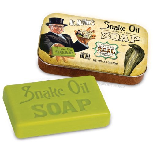 Accoutrements Snake Oil Soap