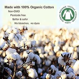 DorDor & GorGor Organic Cotton Unisex Baby Napsack, Beigh 0-3M