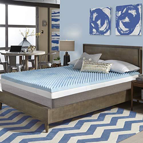 Simmons Beautyrest Comforpedic Loft from Beautyrest 3-inch Sculpted Gel Memory Foam Mattress Topper California King