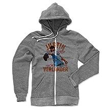 Justin Verlander Laces O Detroit Men's Zip Hoodie