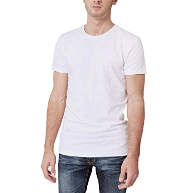 44f68f179c Manadlian Camiseta Hombres Manga Corta