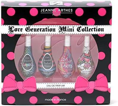 Jeanne Arthes Women's 4-piece Mini Fragrance Set