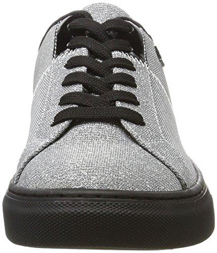 Jeans Sneaker Armani Bassa argento Donne Delle D'argento gddqUwTzB