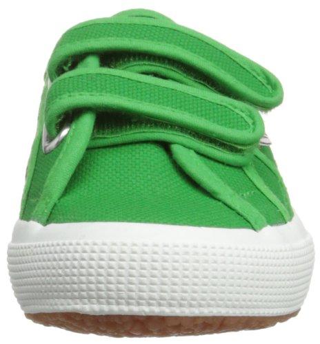Superga Unisex-Kinder 2750 JVEL Classic Sneaker Island Green