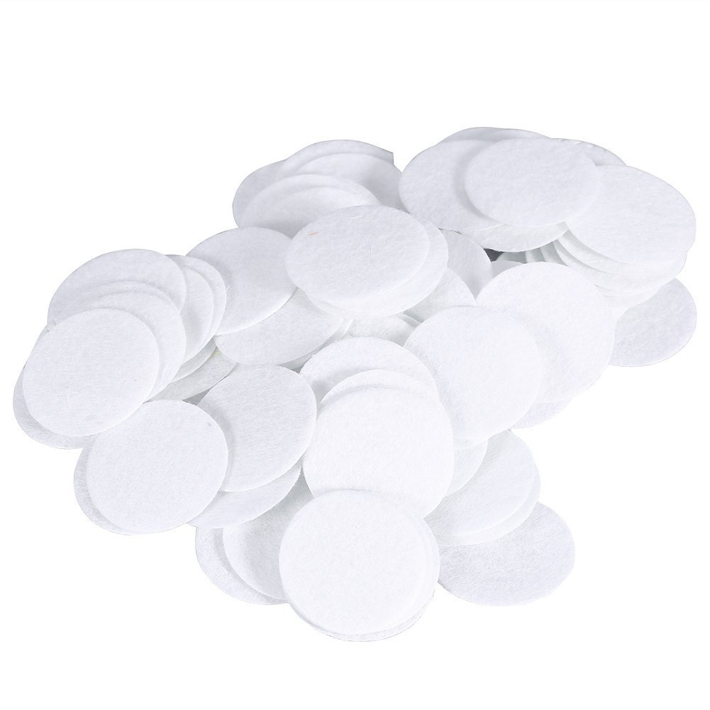 Microdermabrasion Filters, 500pcs New Cotton Filter Round Filtering Pads For Blackhead Removal Beauty Machine (20mm) ZJchao