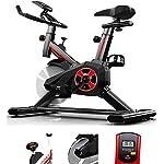 51Ri6ysOyAL. SS150 Lloow Interni Spin Bicycles per Uomo, Esercizio Domestico Pieghevole Multifunzione Fitness Bike Pedale Funzione Biciclette Bicycle Spinning