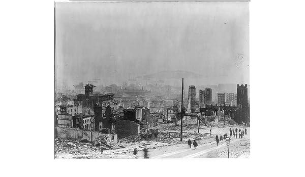 Amazon com: HistoricalFindings Photo: Devastated City