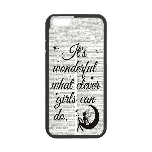 "Fayruz - iPhone 6 Rubber Cases, Peter Pan Never Grow Up Hard Phone Cover for iPhone 6 4.7"" F-i5G107"