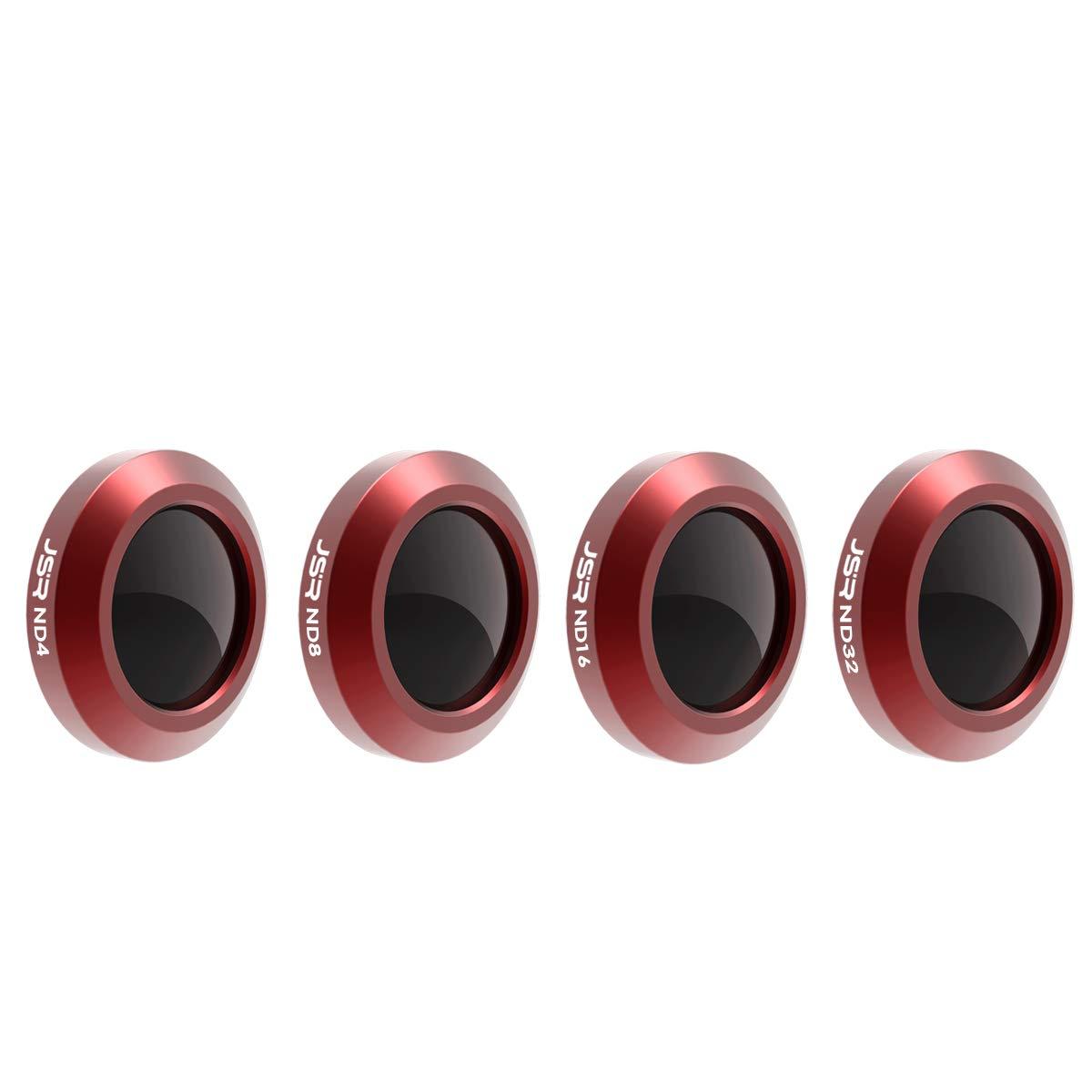 Ocamo プロフェッショナルドローンフィルター ND 4 8 16 32 カメラフィルターセット DJI Mavic 2 Zoom Polarizer UV Starフィルターアクセサリー Mavic2 Zoom用 4 in 1 WXL-TOY-1107-01F38F7434 B07K8JXZGD   4 in 1