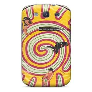 Samsung Galaxy S3 RDH9039KeWE Custom Colorful Red Hot Chili Peppers Pattern High Quality Hard Phone Case -AlissaDubois