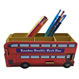 ninja turtle console - DIY Thick Cardboard 1PC Workplace Desk Stationery Organizer Storage Field Pen/Pencil/Cell Cellphone/Enterprise Title Playing cards/Distant Management Holder (Double Bus)