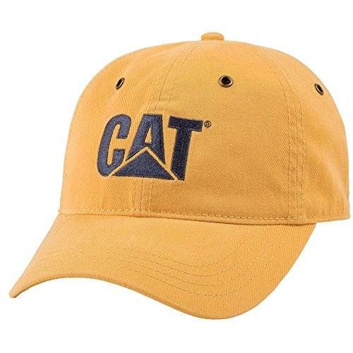 Cat Mustard Chino Hat