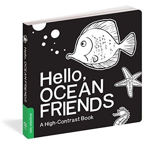 Hello, Ocean Friends: A High-Contrast Book ()