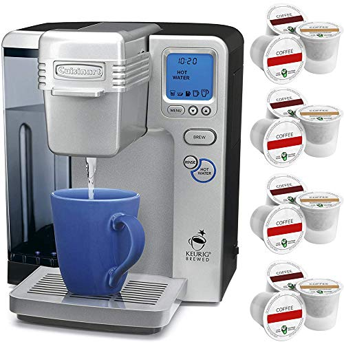 Cuisinart SS-700 Single Serve Keurig Brewing System (Renewed) with 12 K-cups Bundle