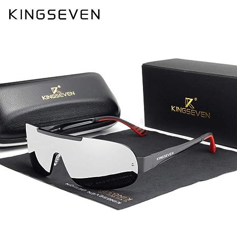 Yangjing-hl Diseño Nuevo Aluminio Hombres Marca Gafas de Sol ...