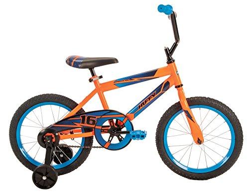 Huffy Bicycle Company Pro Thunder Single-Speed Boys Bike, Neon Orange, 16'' by Huffy (Image #2)