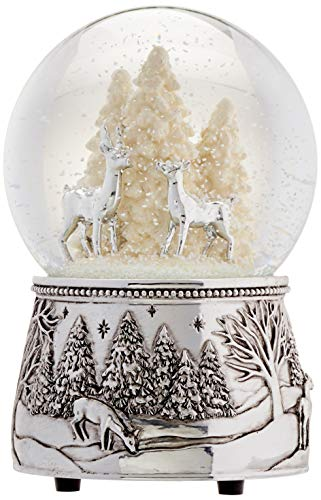 (Reed & Barton North Pole Bound Christmas Snowglobe)