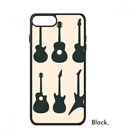 DIYthinker Guitarra eléctrica Música vitalidad Suena phonecase Cover de Apple Caja de Regalo del iPhone 7