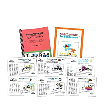 Image of Early Childhood Education Materials 306 SnapWords Pocket Chart Cards