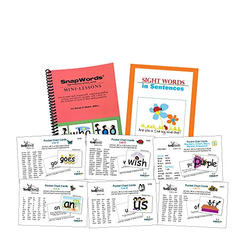 306 SnapWords Pocket Chart Cards