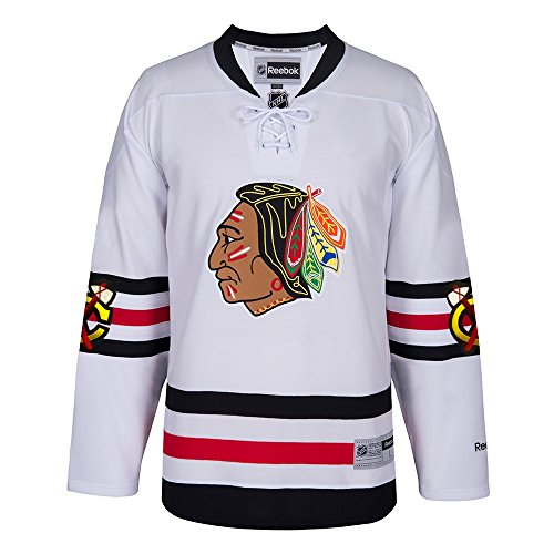 Chicago Blackhawks Reebok 2017 Winter Classic Premier Blank Jersey by Reebok L