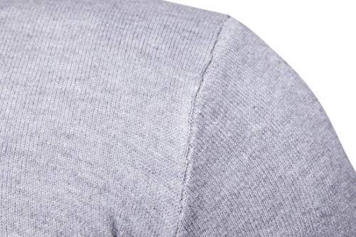 Larga Unicolor Jerseys Pulóver Manga Para Ho Sweater Punto Betrothales Grau Pullover 8TFqxwIq