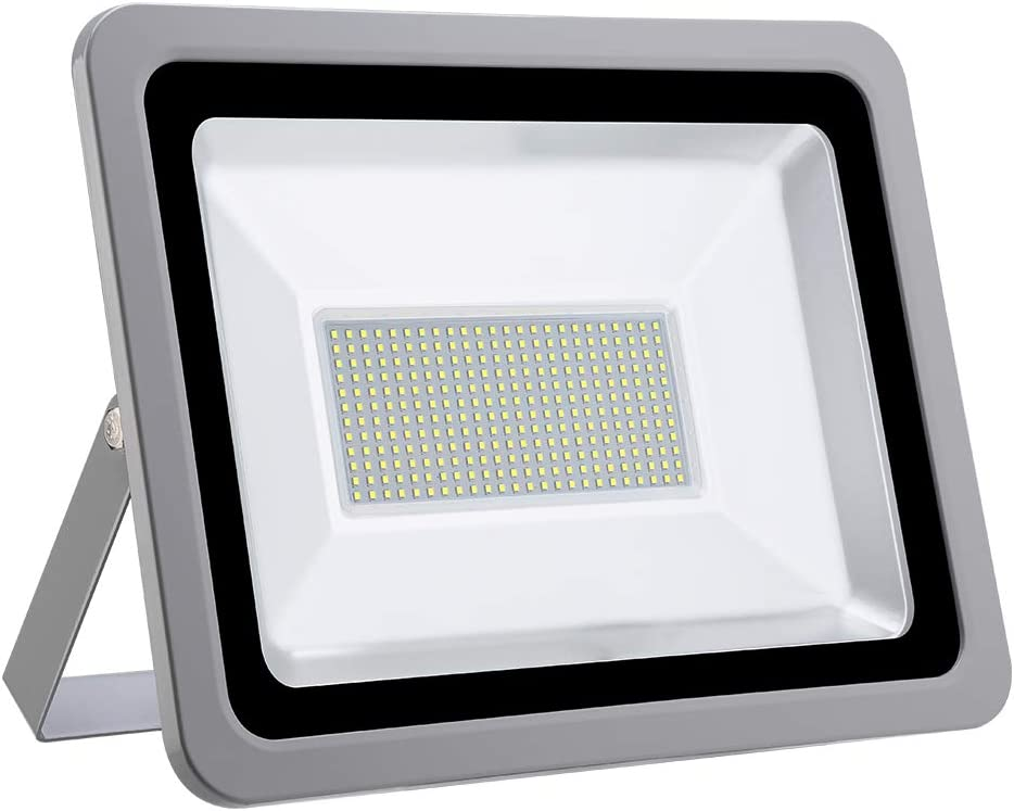 Proyector Floodlight LED para Exteriores, IP65 Waterproof, 200W 20000LM Blanco Frío (6000-6500K), Wall Washer Light,(Blanco Frío, 200W)