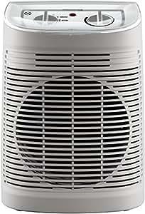 Rowenta SO6510F2 Calefactor Comfort Aqua 2400 W,45 dB, color beige