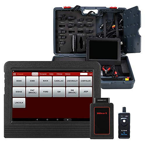 LAUNCH X431 V+ (Upgrade Version of X431 V PRO) Full System Scan Tool Bi-Directional OBD2 Scanner IMMO ECU Injector Coding Gear Learning ABS Brake Bleed Code Reader with TPMS Activation Tool (Best Automotive Scan Tool Laptop)