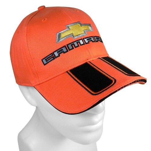 Chevrolet Camaro Rally Stripe Orange Baseball Cap RW