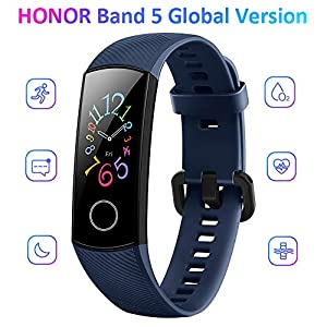 Docooler Honor Band 5 Smart Bracelet Watch Faces Smart Fitness Timer Intelligent Sleep Data Real-Time Heart Rate…