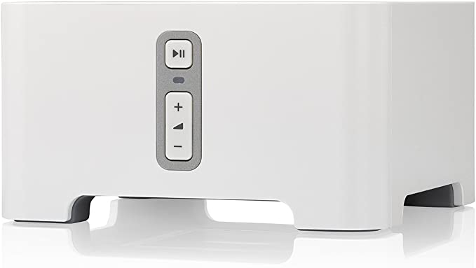 Amazon.com: Sonos Connect - Wireless Home Audio Receiver Component for Streaming Music - White: Home Audio & Theater