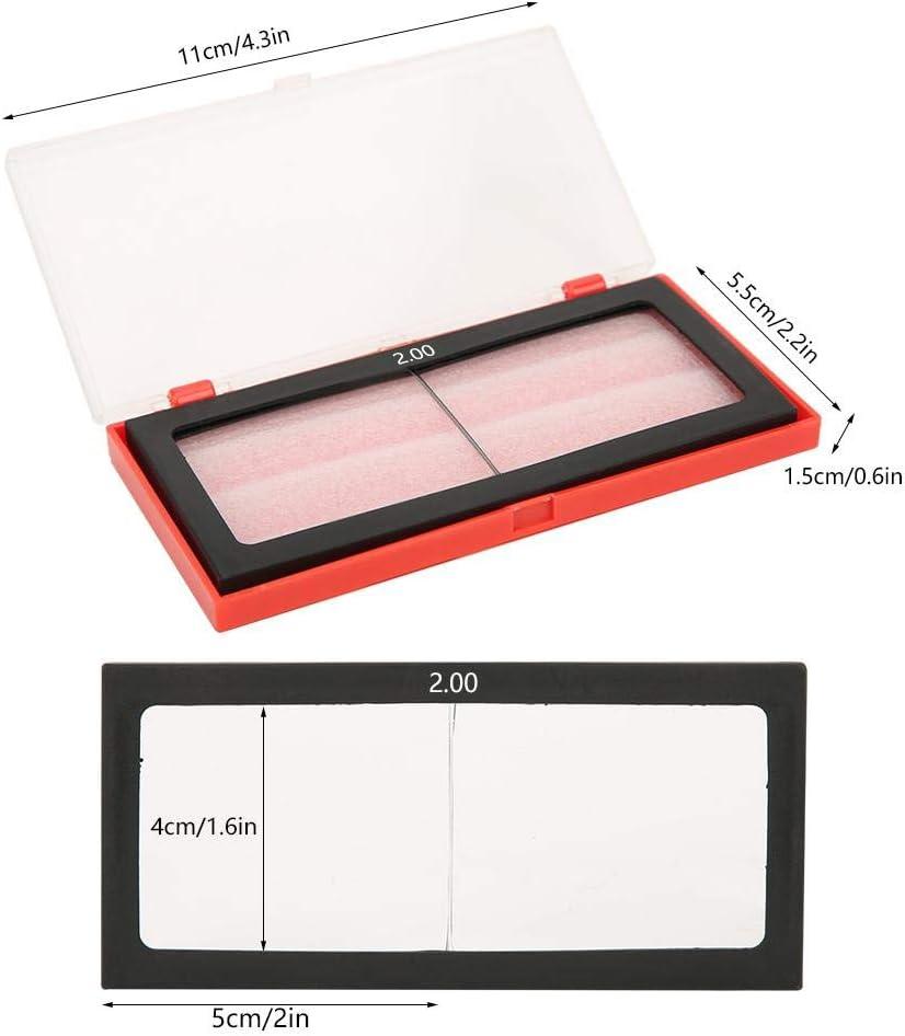 Cristal de soldadura lupa lente filtro de oscurecimiento autom/ático oscurecimiento horizontal protecci/ón de los ojos soldador Accesorios 1.0//1.5//2.0//2.5//3.0 Dioptr/ía