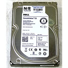 "Dell - 2TB 7.2K RPM 6Gb/s 3.5"" SAS HD - Mfg # R755K (comes w/ drive & tray) 5 Original Dell Hard Disk Drive Part Number: R755K 2TB 3.5"" SAS 7.2K 6Gb/s HS Hard Drive Hot-Swap Tray Included"