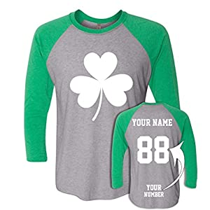 Custom Jersey Style St Patrick's Day T Shirts – Saint Pattys Tee & Irish Outfits
