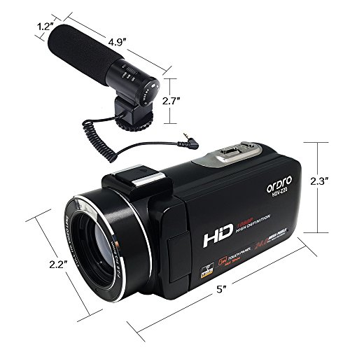 ORDRO Wifi Video Camcorder HDV-Z...