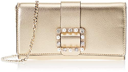 Guess Dorado Mujer City gold Mano Night Bolsos Summer De gol rqvHrw