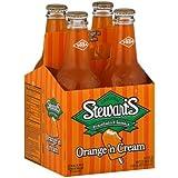 Stewart's Fountain Orange 'N Cream Classics Soda (Pack of 2)