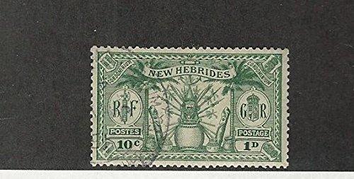 New Hebrides - British, Postage Stamp, 42 Used, 1925