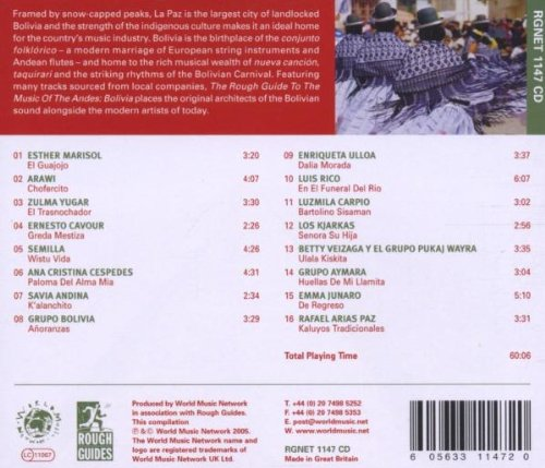 The Rough Guide to Music of the Andes: Bolivia