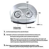 750W/1500W Portable Ceramic Space Heater, ETL