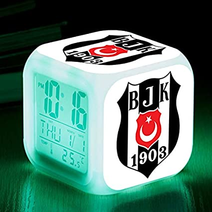 Amazon.com: Football Team from Scotland LED Alarm Clocks reloj despertador Rangers Football Club Digital Alarm Clock Watch Color Flash Lamps: Home Audio & ...