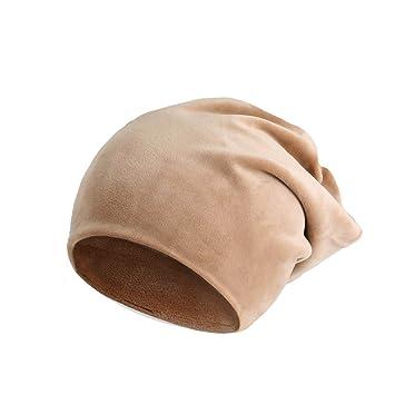 DEED Sombrero - Gorras De Felpa De Otoño E Invierno, Gorras De Pelo Sólido De