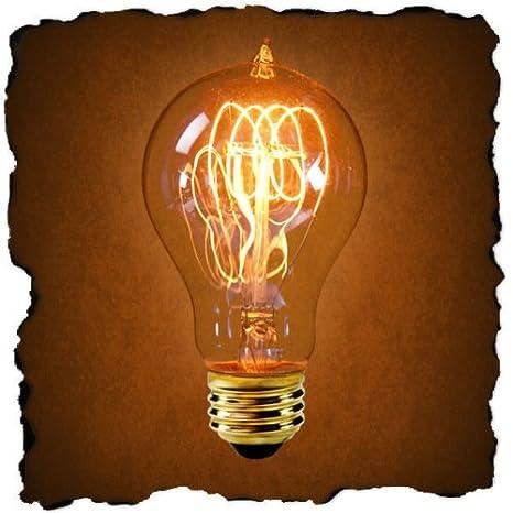25 Watt - Vintage Antique Light Bulb - Victorian Style - 4