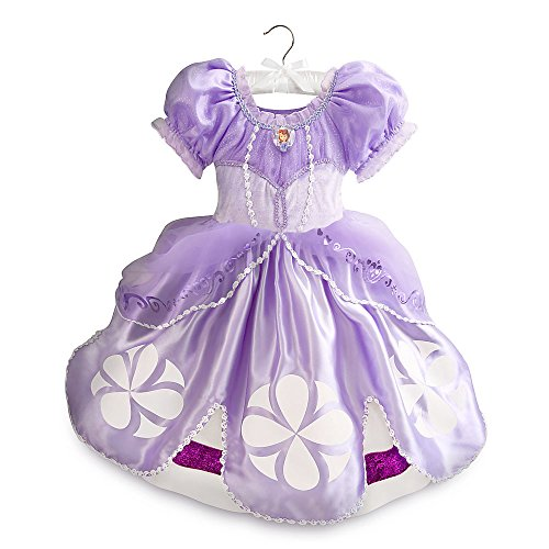 Disney Store Deluxe Sofia The First Halloween Costume Size XXS 3 3T (Sofia The First Halloween Show)