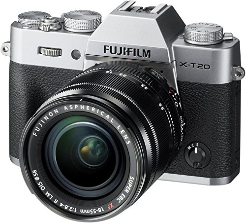 Fujifilm X-T20 Mirrorless Digital Camera w/XF18-55mmF2.8-4.0 R LM OIS Lens-Silver from Fujifilm
