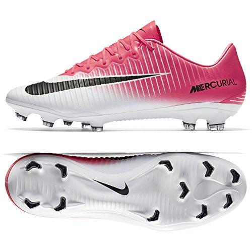 0f897d3cf Nike Mercurial Vapor XI FG 831958-601 Racer Pink White Black Men s Soccer  Cleats (Size 11)